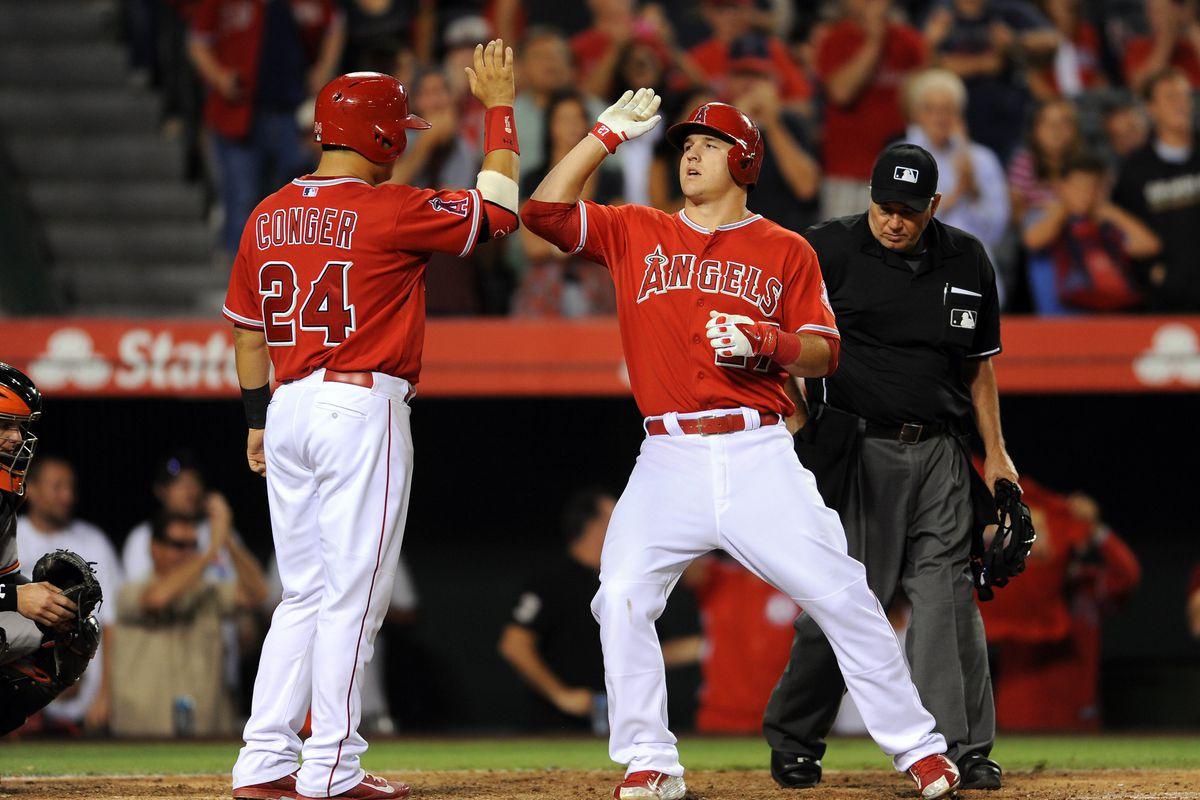 MLB: JUL 22 Orioles at Angels