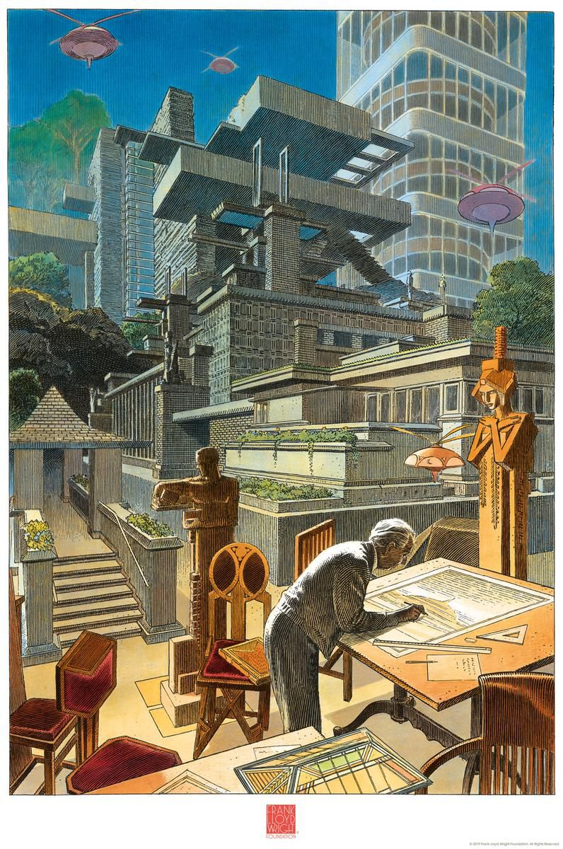 Poster featuring Fallingwater