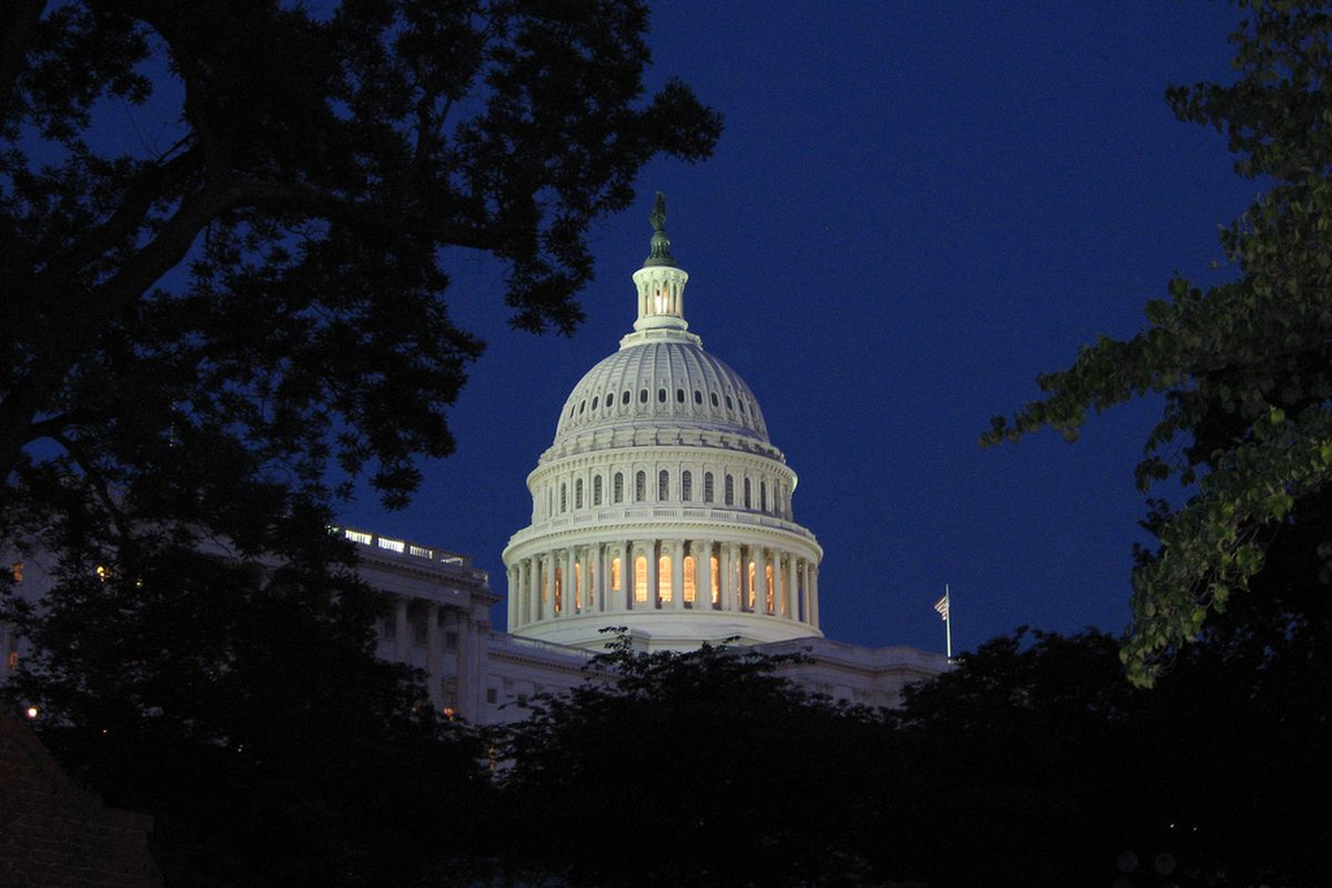 Capitol at Night [by Robero Ceballos via Flickr]