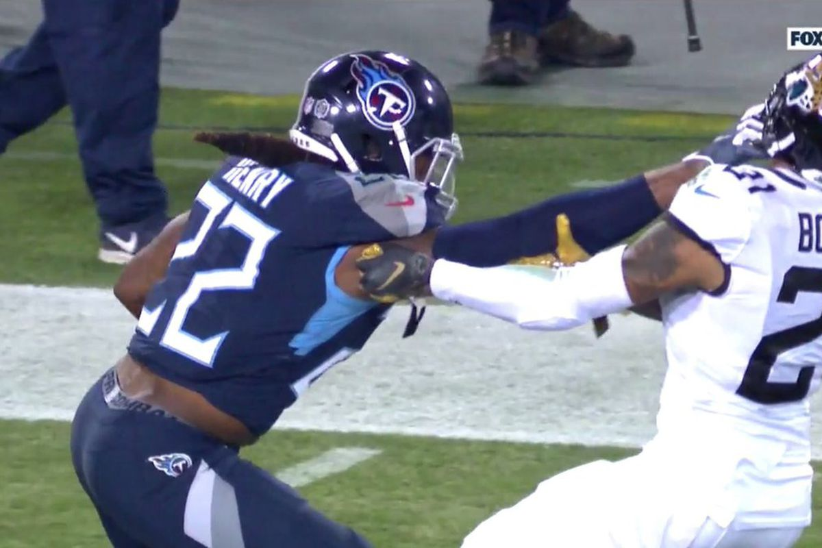 4a71519a The 9 best parts of Derrick Henry's NFL record 99-yard touchdown run ...