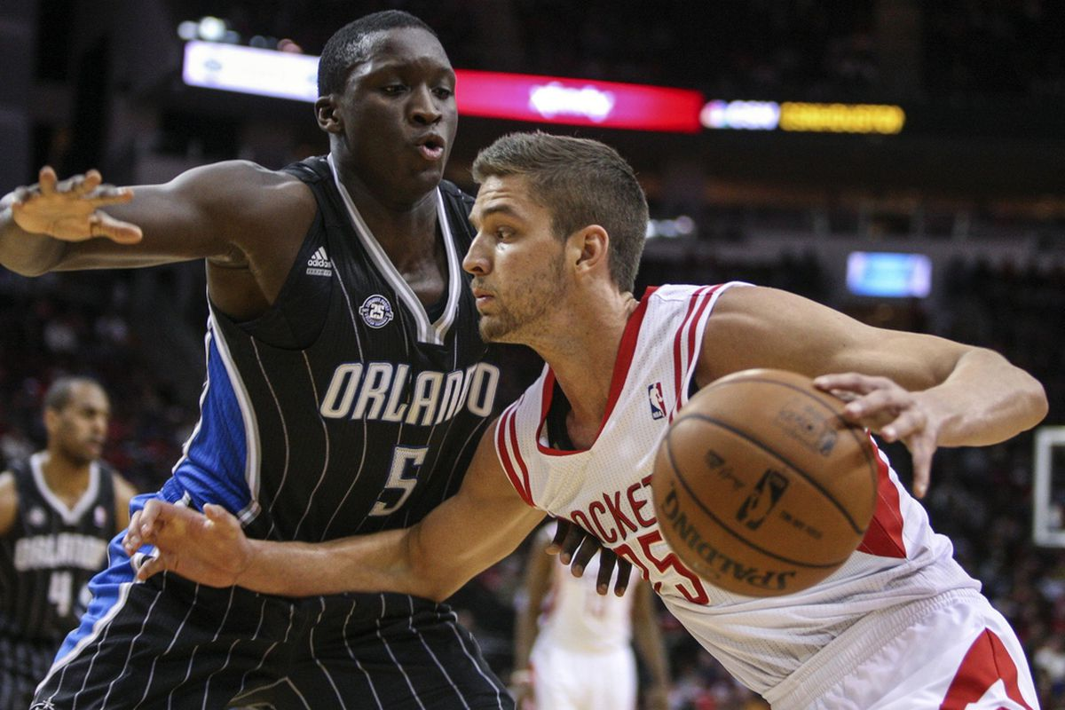 Victor Oladipo and Chandler Parsons