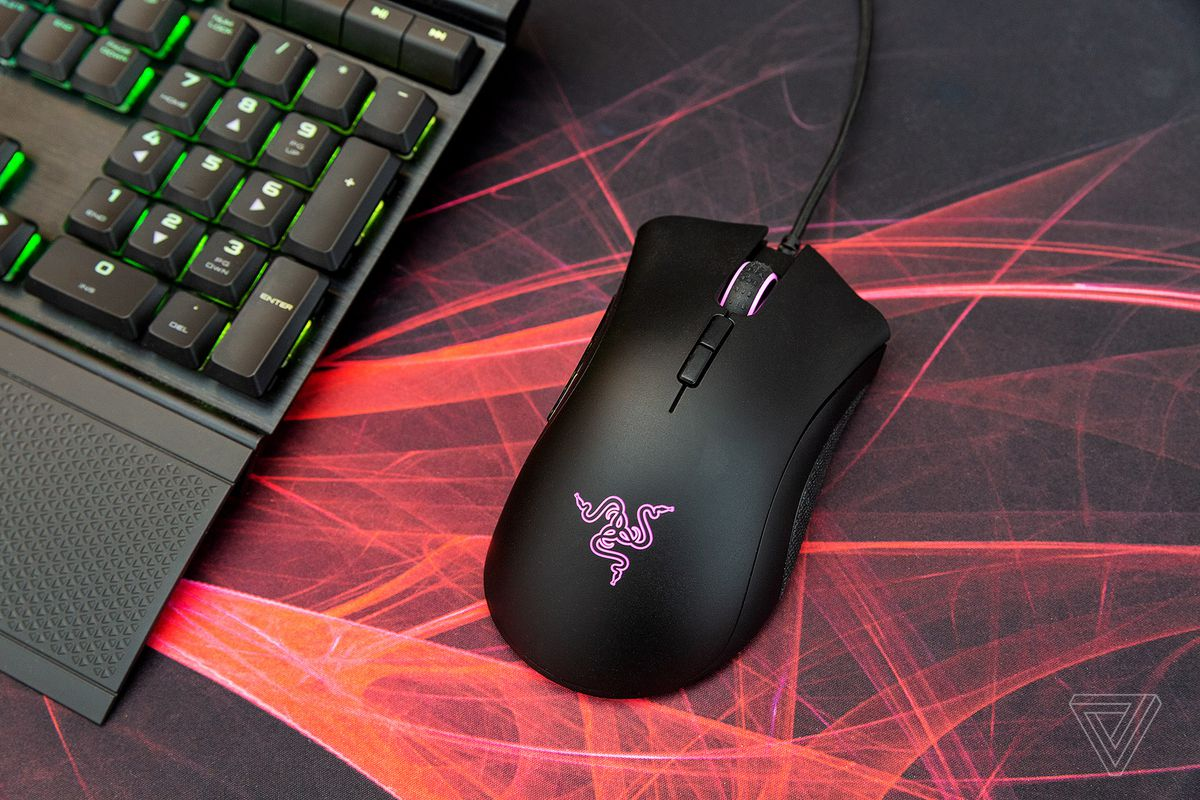 Razer's DeathAdder Elite mouse and other PC gear are