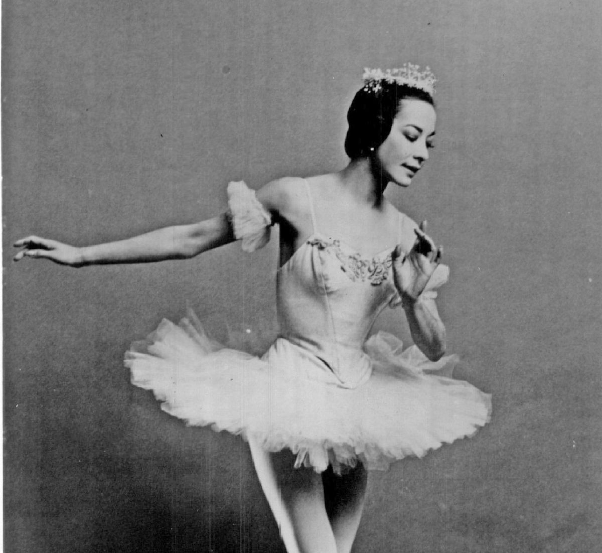 Ruth Ann Koesun, who danced with the American Ballet Theatre. | National Ballet of Illinois