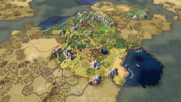 Civilization 6 on iPad