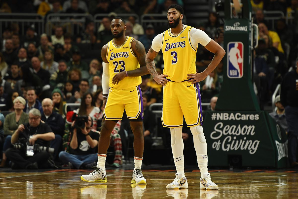 Lakers New Lebron James Anthony Davis Planning To Play Vs