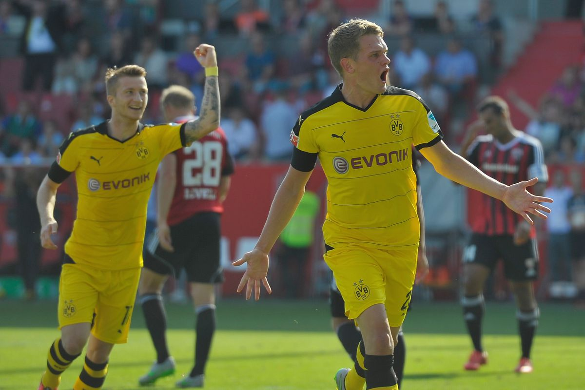 Ginter's goal puts Dortmund ahead in our last meeting against Ingolstadt