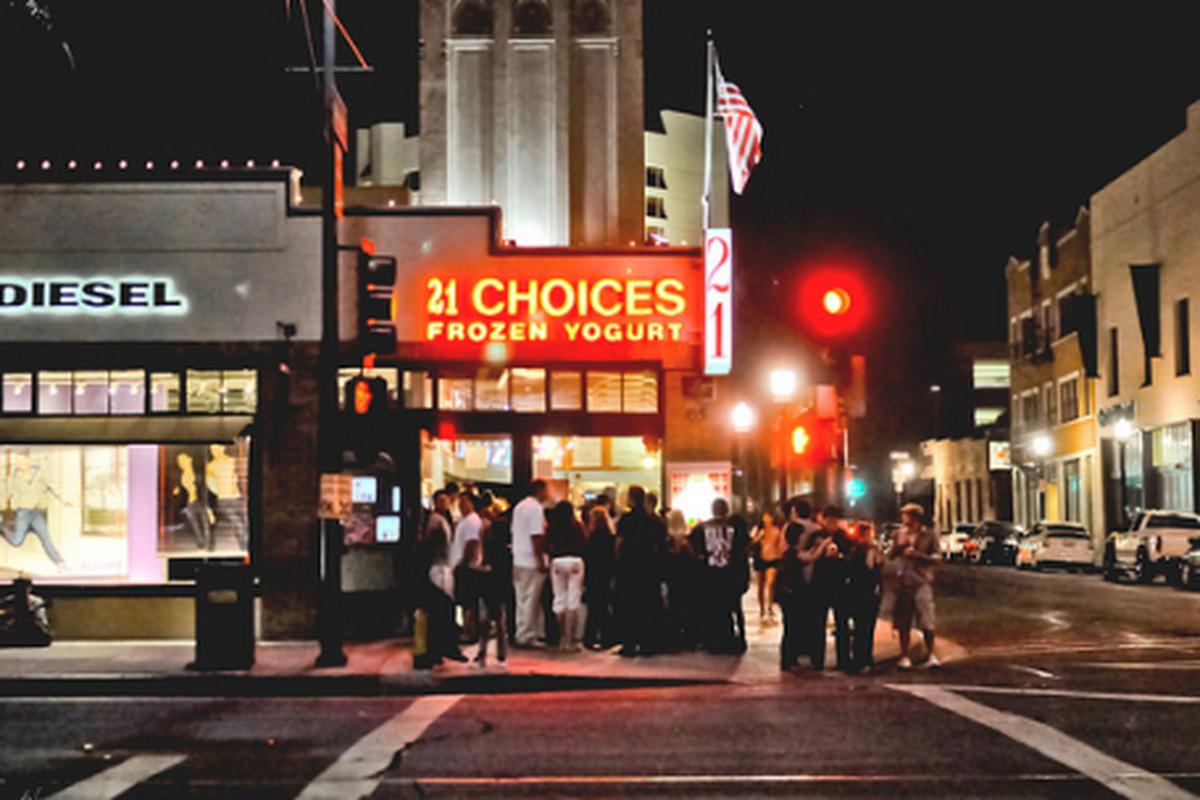 All the same choice at 21 Choices, Pasadena.