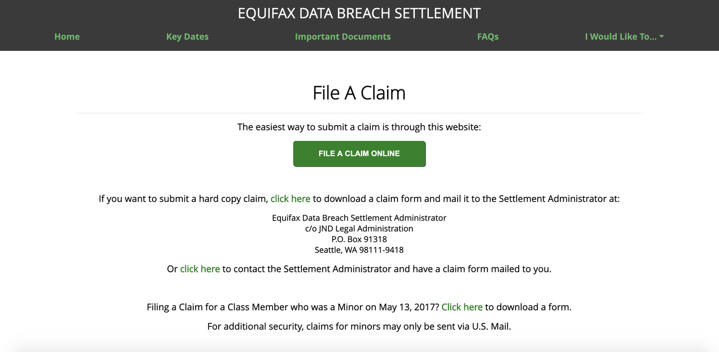 Equifax Owes You A Lot More But Here S How To Get 125 From This Week S Settlement The Verge