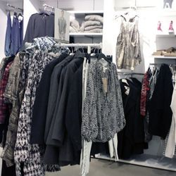 The Isabel Marant women's inventory at H&M Beverly Center.