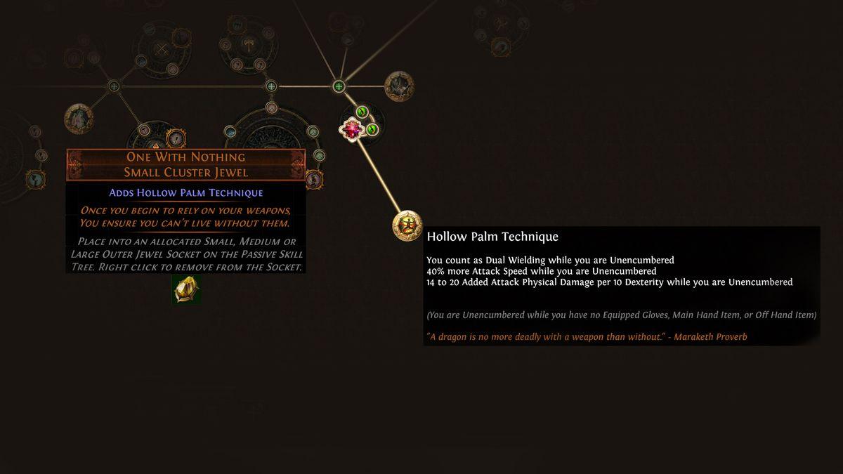 Path of Exile Delirium Jewel Cluster