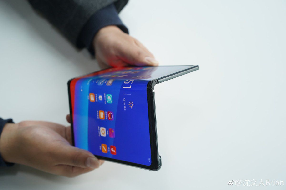 Oppo Shows Off Its Own Foldable Phone The Verge