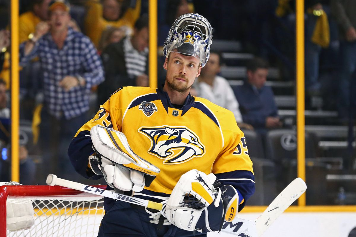 Last season was a long one for the struggling Pekka Rinne.