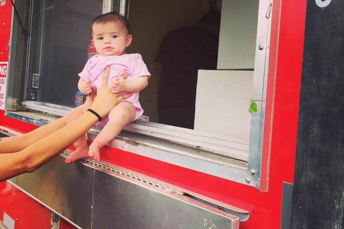 Valentina's Tex Mex BBQ's new truck, Violet Taco