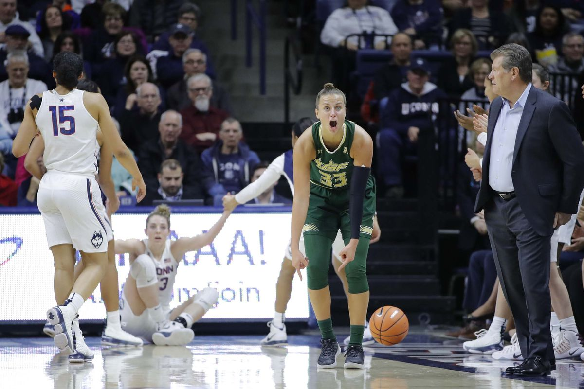 NCAA Womens Basketball: South Florida at Connecticut