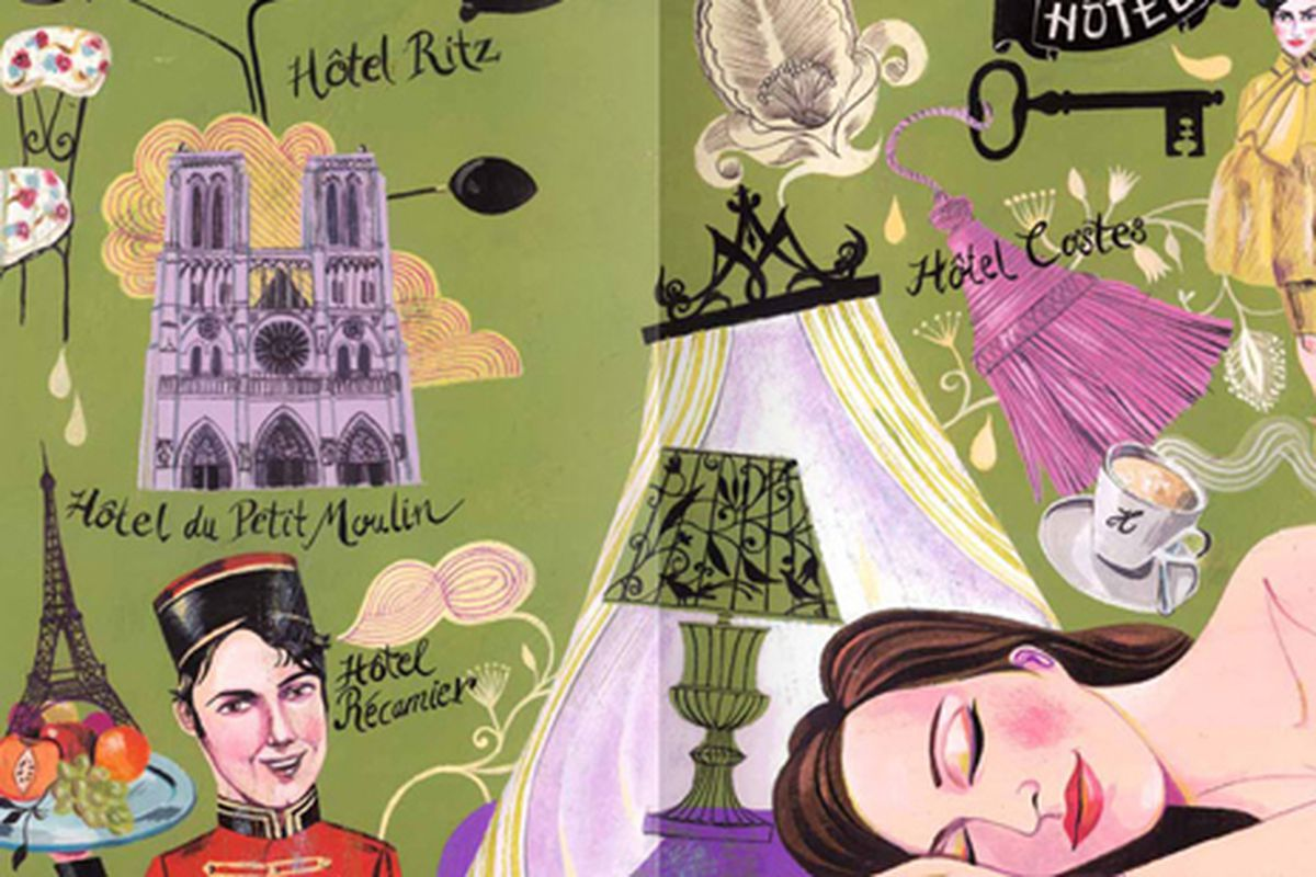 """An image from TASCHEN's Paris. You may or may not be able to find a sale copy, but how amazing are the illustrations? Image via <a href=""""http://www.taschen.com/pages/en/catalogue/lifestyle/all/04948/facts.taschens_paris.htm"""">TASCHEN</a>."""