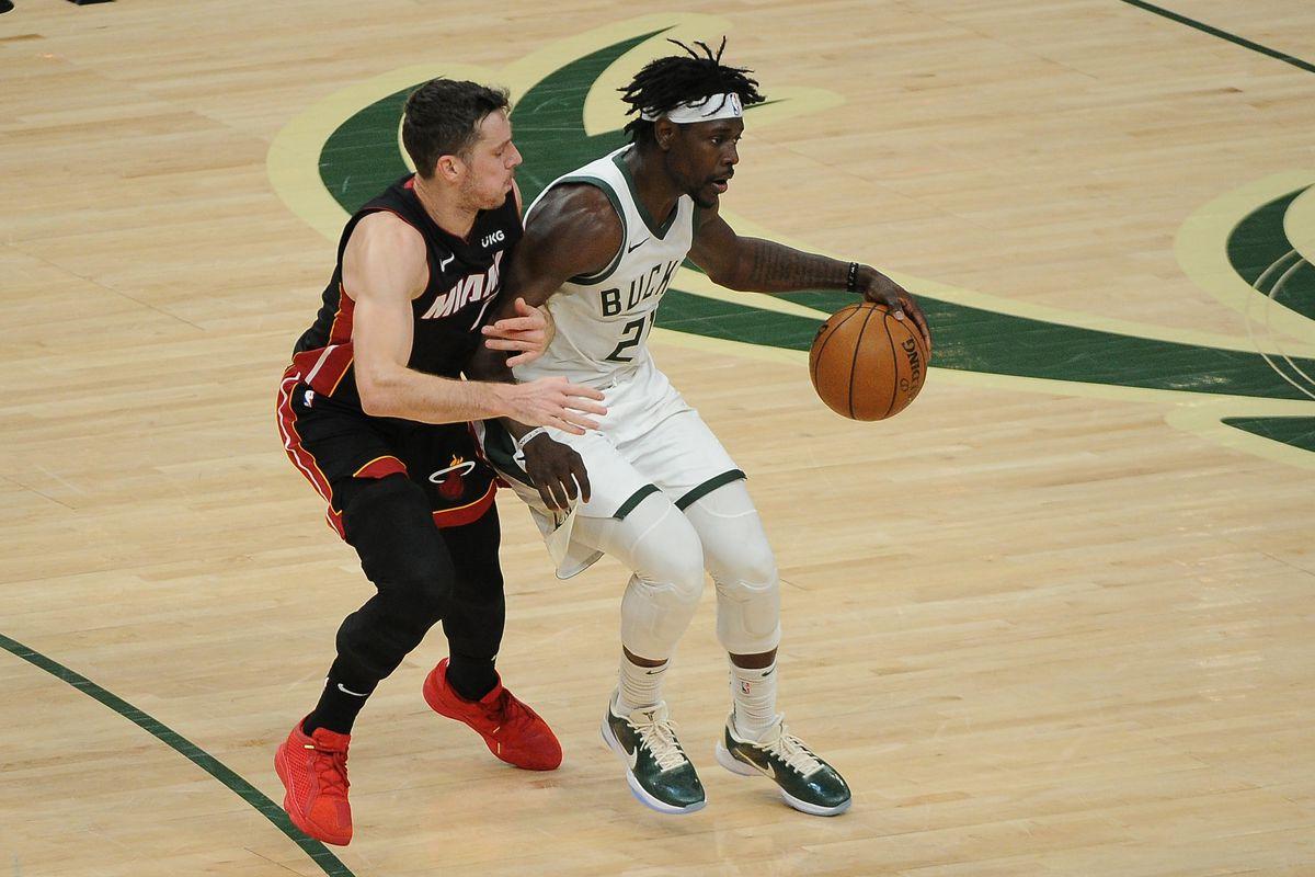 NBA: Miami Heat at Milwaukee Bucks