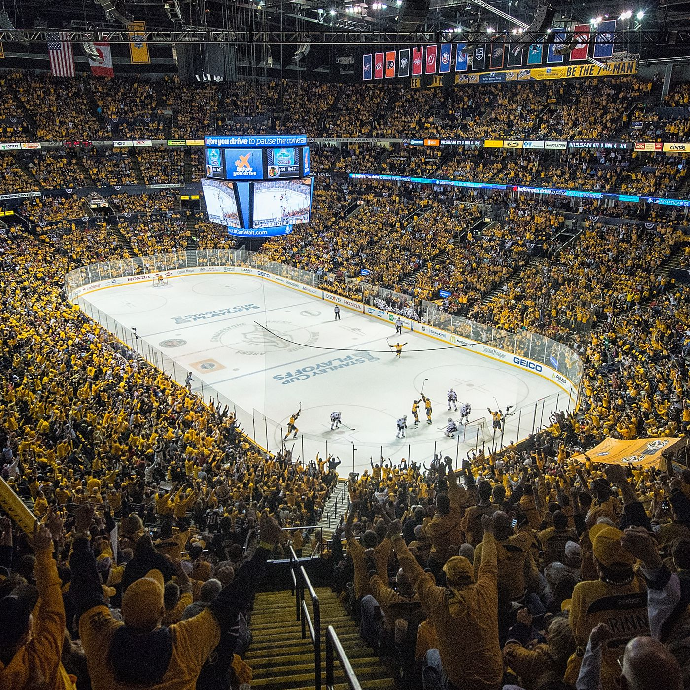 5c37402ce How the Nashville Predators built a fan base in the heart of college  football country
