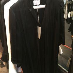 Georgette paneled dress, $392 (was $785)