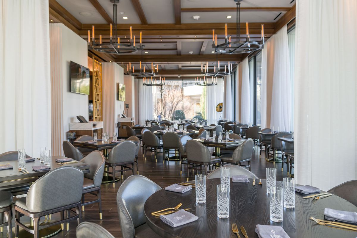 The dining room at Gordon Ramsay Hell's Kitchen