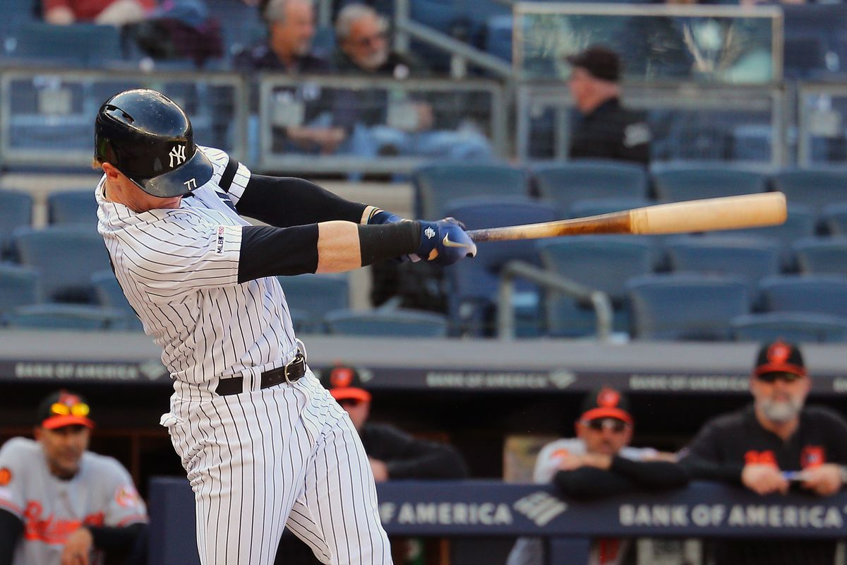 Clint Frazier should be the Yankees' everyday left fielder, next year