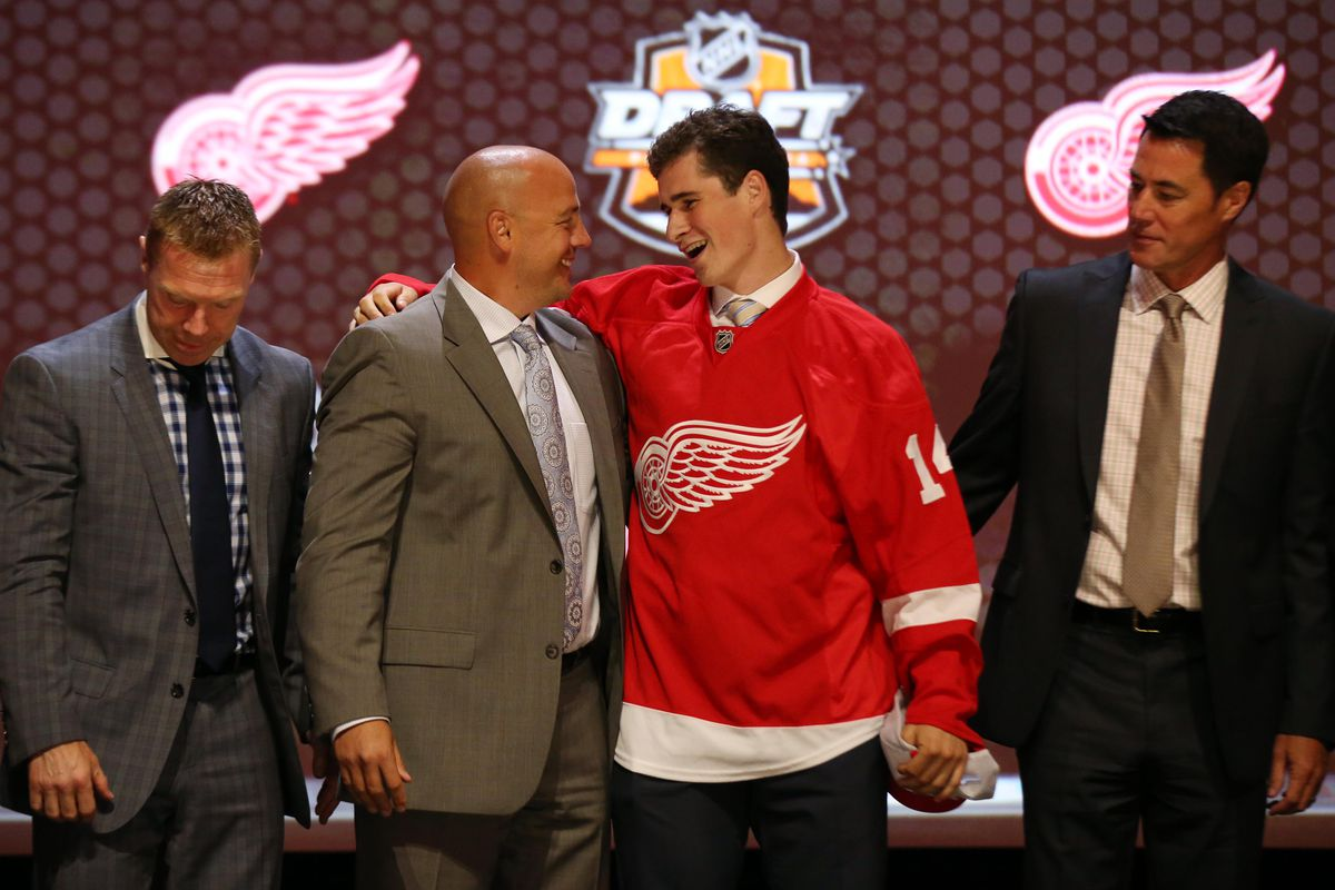 """The 2014 NHL draft saw the beginning of the """"Snip Show."""" What will the Red Wings do this year?"""