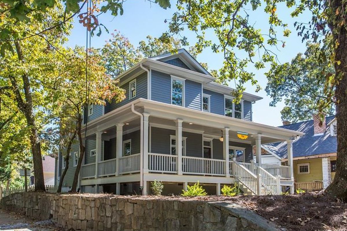 A large Craftsman style home for sale in Grant Park.