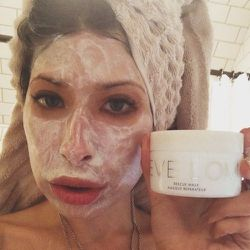 """<b>Eve Lom</b> rescue mask saves me year-round. I'm so busy with work that it's great to have a kind of """"one stop shop"""" mask for so many different needs: stress, blotchiness, puffiness, it does it all!"""