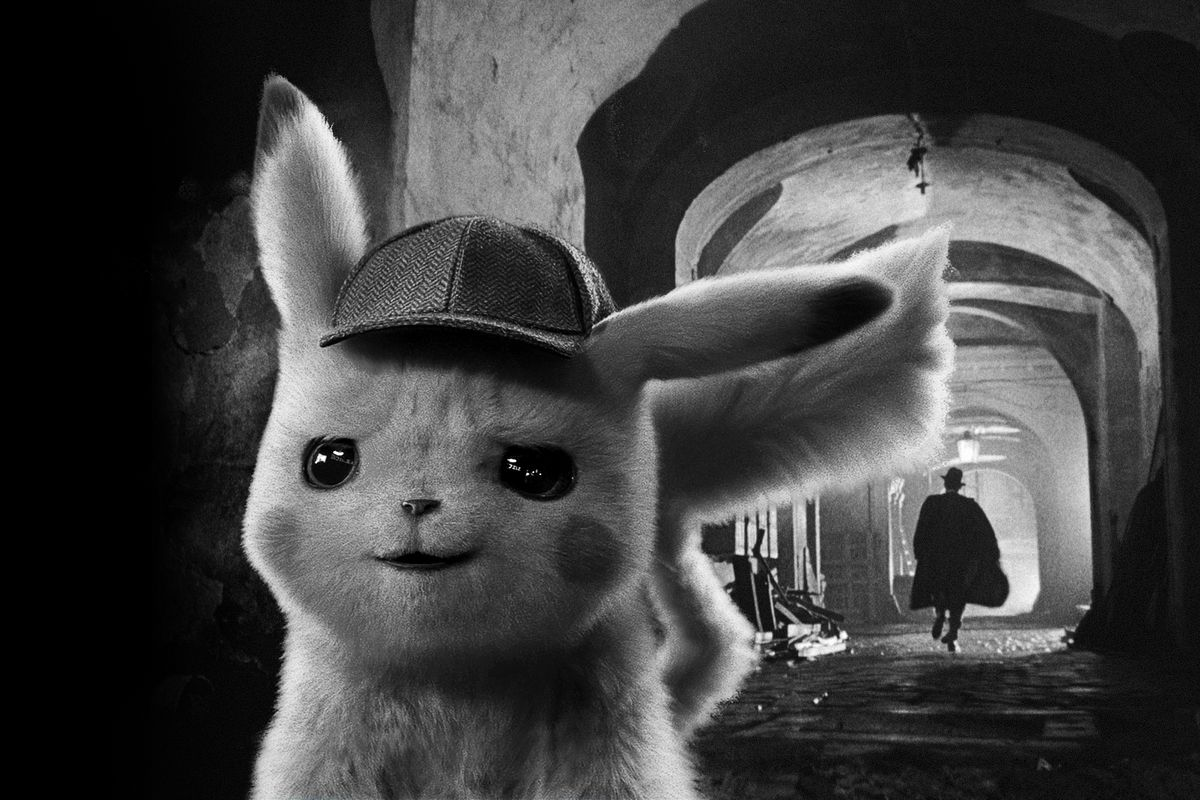 142e3af0 How the classic film noir The Third Man inspired Detective Pikachu ...