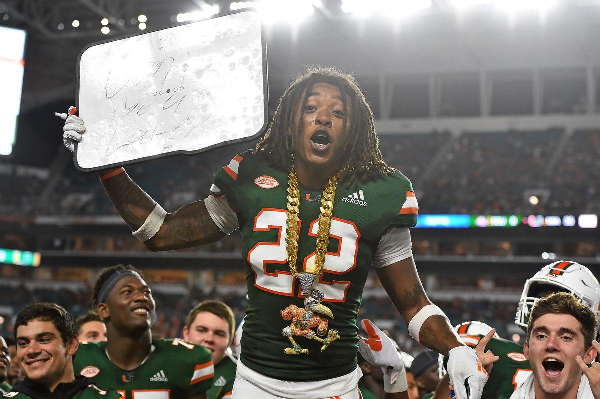 NCAA Football: Savannah State at Miami
