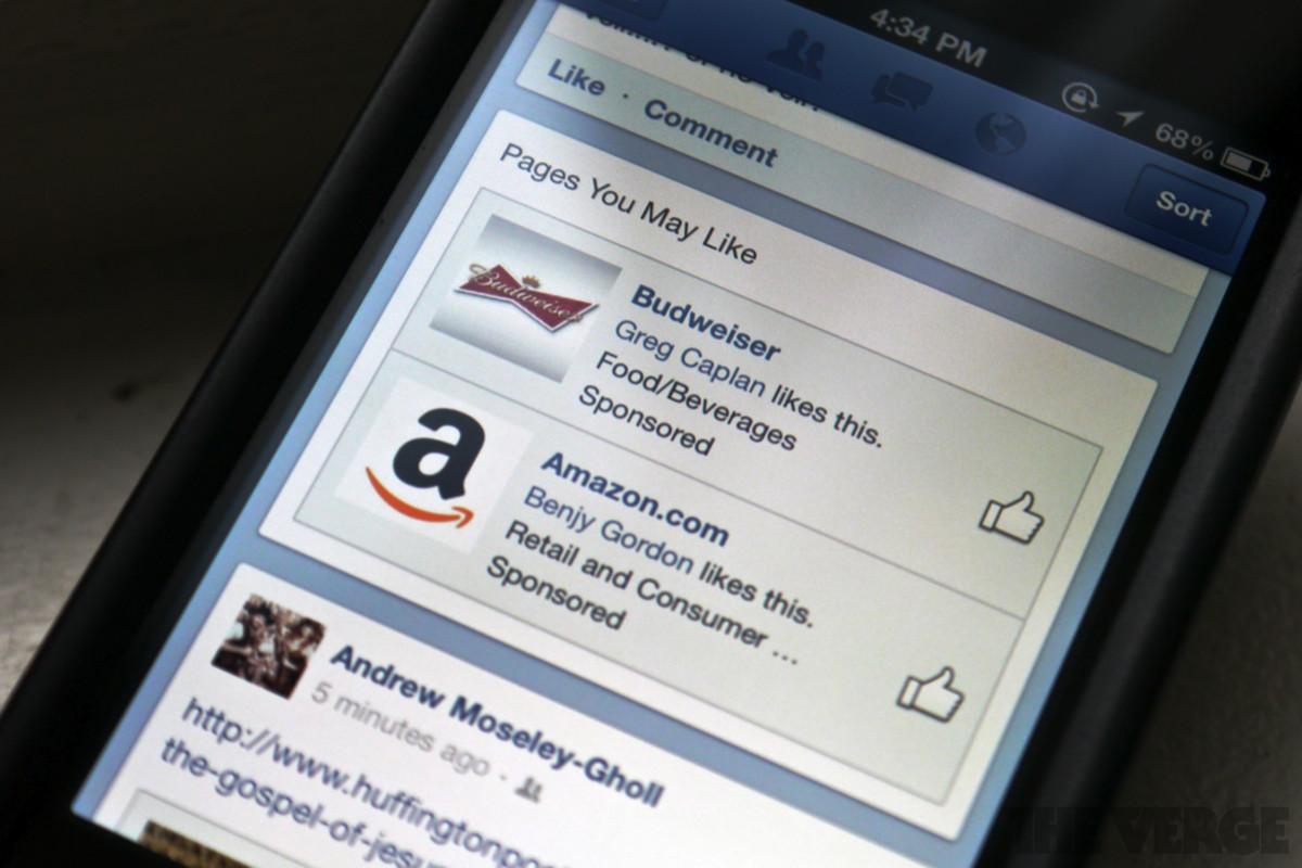 facebook mobile sponsored stories ads