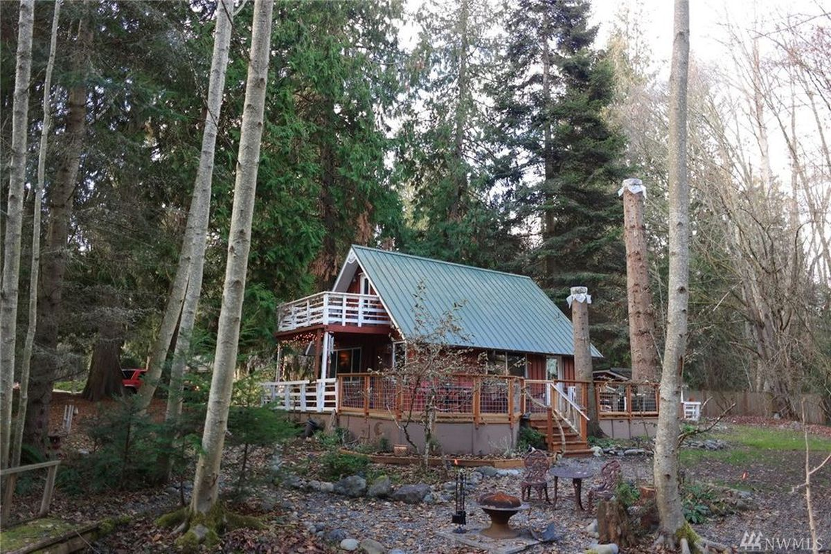 Sequim Cabin Mixes Art And Pragmatism Curbed Seattle