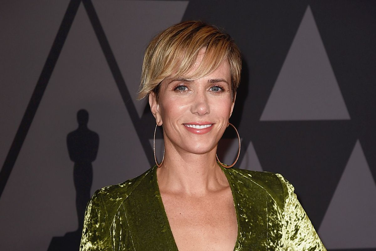b6141cb186a Kristen Wiig was seen at Brawn on Columbia Road last weekend Kevin  Winter Getty Images