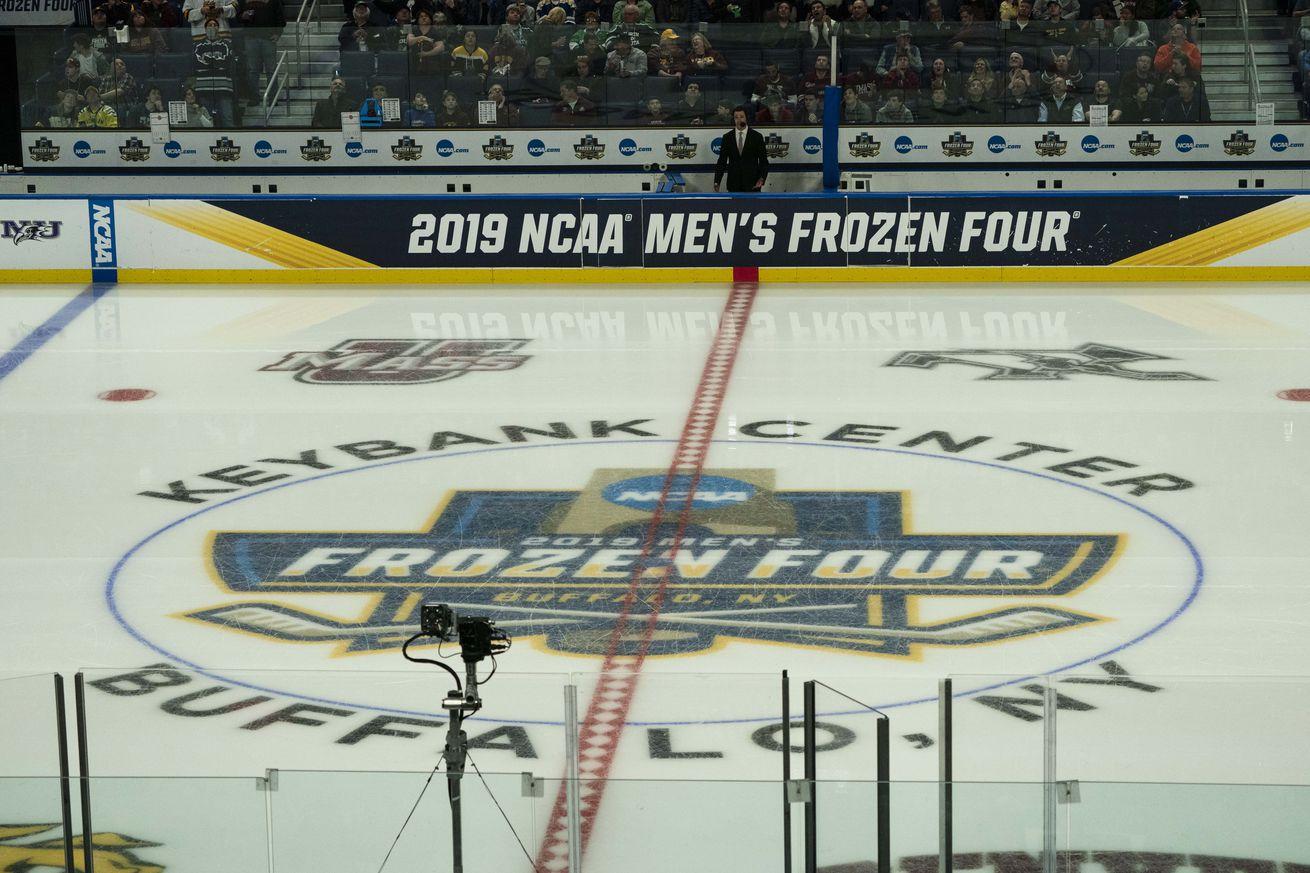 NCAA HOCKEY: APR 13 Div I Men's Championship Game - Massachusetts v Minnesota Duluth