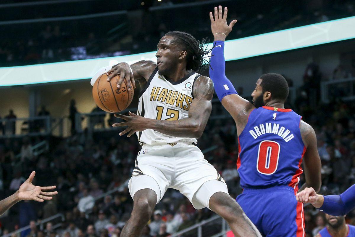 NBA: Detroit Pistons at Atlanta Hawks
