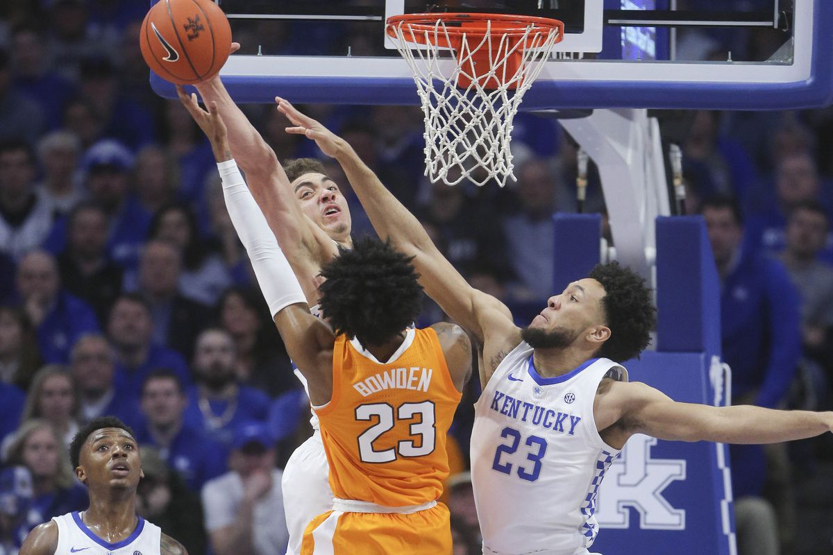 Image result for kentucky tennessee basketball