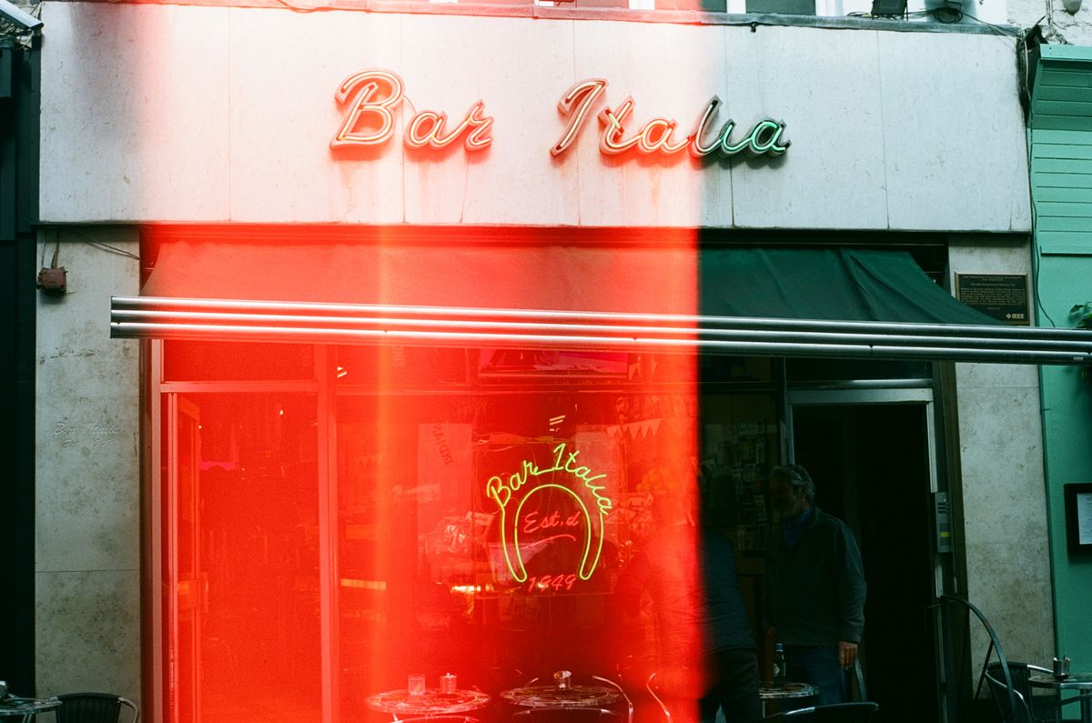 Bar Italia, on Soho's Frith Street