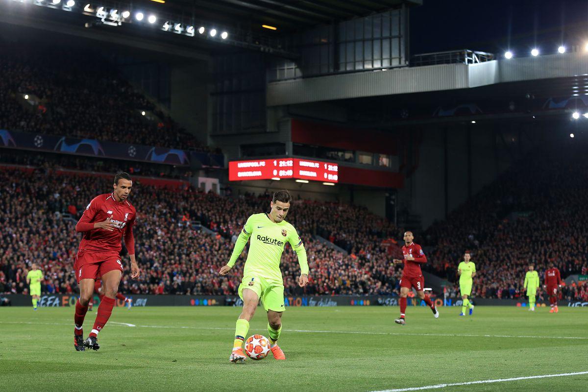 Liverpool v FC Barcelona - UEFA Champions League Semi Final: Second Leg