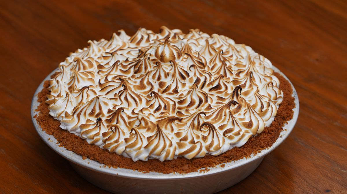 The key lime pie from the Abbey in West Hollywood