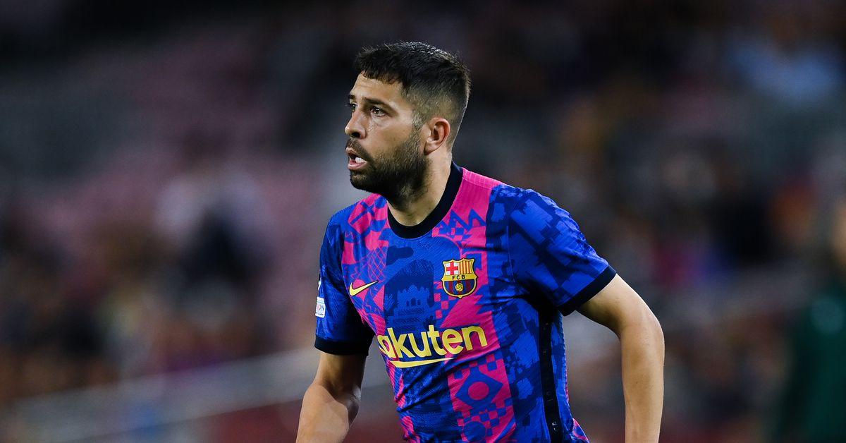 Barcelona's Jordi Alba a doubt for El Clasico due to injury - report - Barca Blaugranes