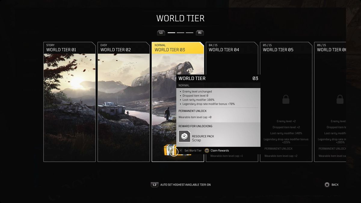 Outriders guide: World Tier and difficulty guide