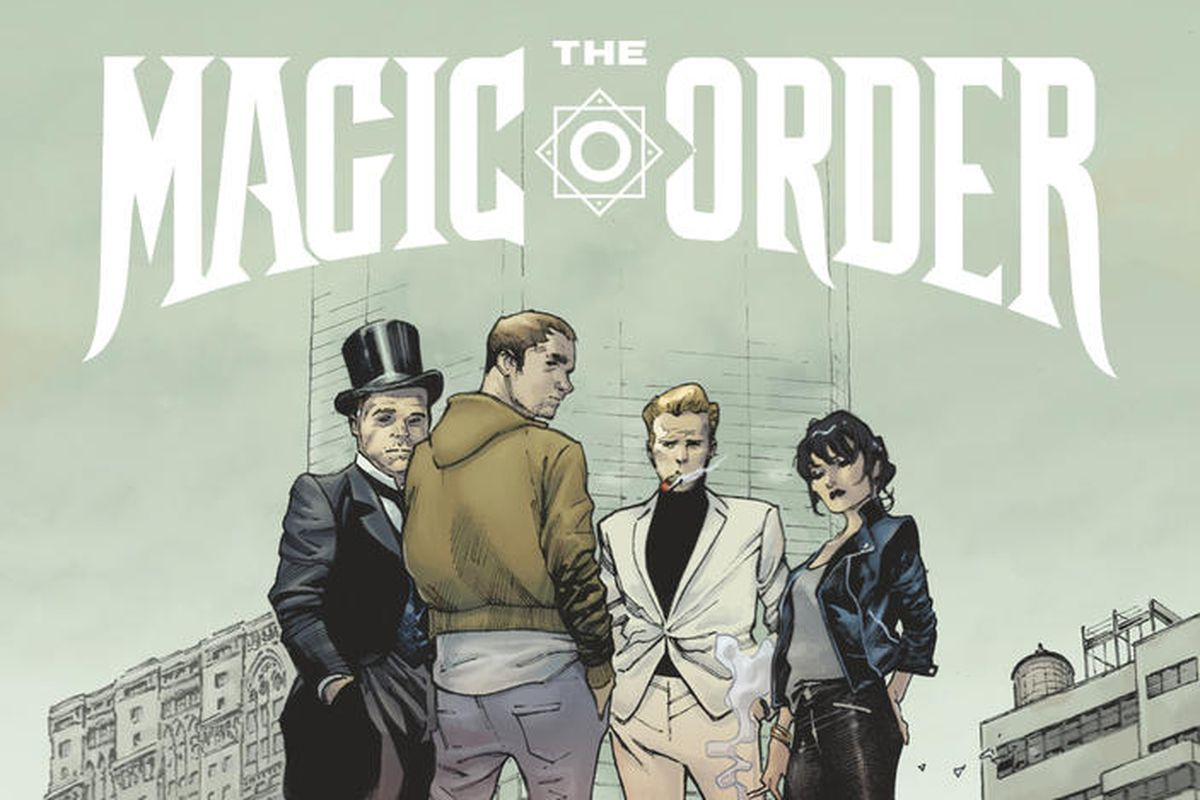 Netflix Announces First Comic Book Title, Mark Millar's 'The Magic Order'
