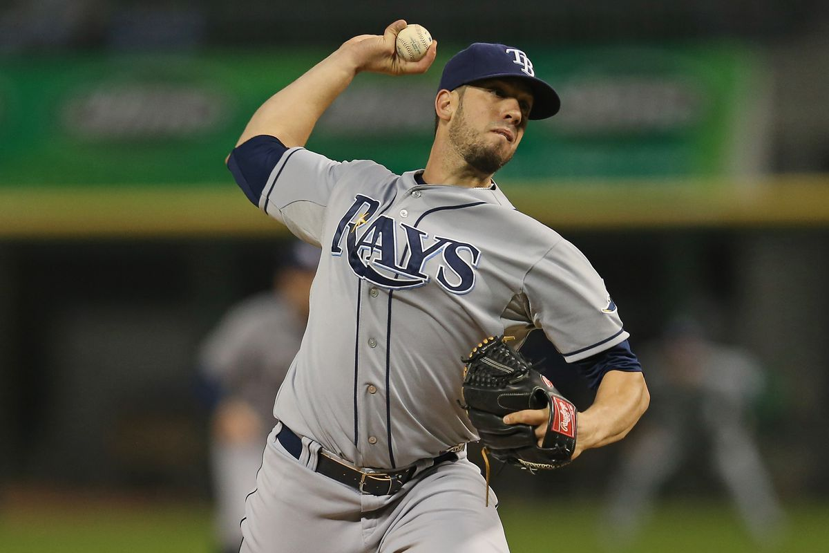 I searched for one of Shields in a Rays uniform because screw the Royals.