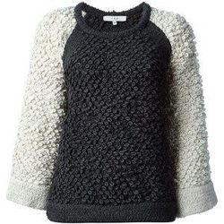 "IRO loopy knit raglan-sleeve sweater, <a href=""http://www.barneys.com/on/demandware.store/Sites-BNY-Site/default/Product-Show?pid=503604737&utm_source=J84DHJLQkR4&utm_medium=affiliate&siteID=J84DHJLQkR4-84SEoJnW3SH9_aFFnFQdZQ"">$480</a> at Barneys"