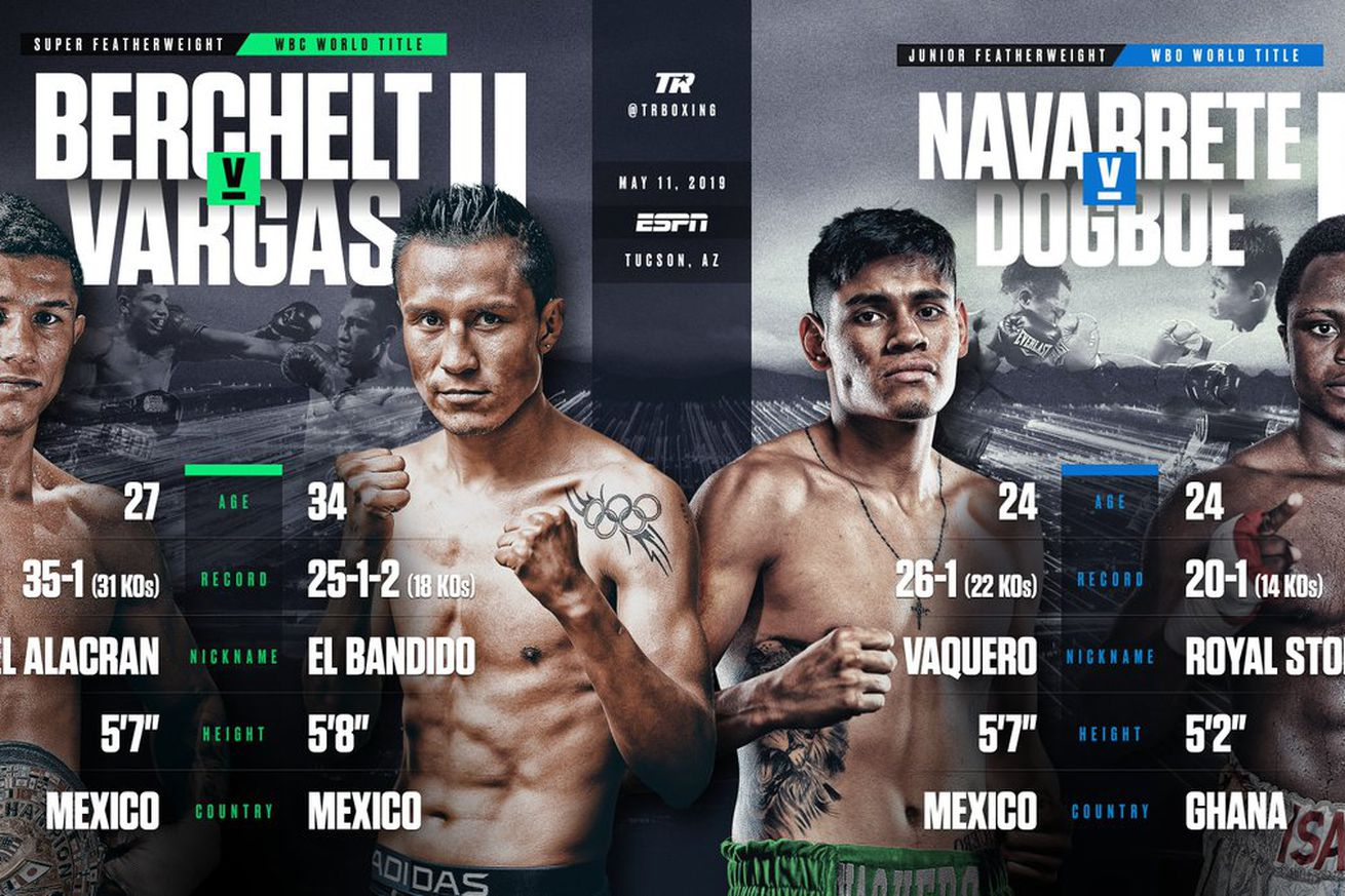 D3FF29HU0AEbbwd.0 - Berchelt-Vargas, Navarrete-Dogboe rematches official for May 11th