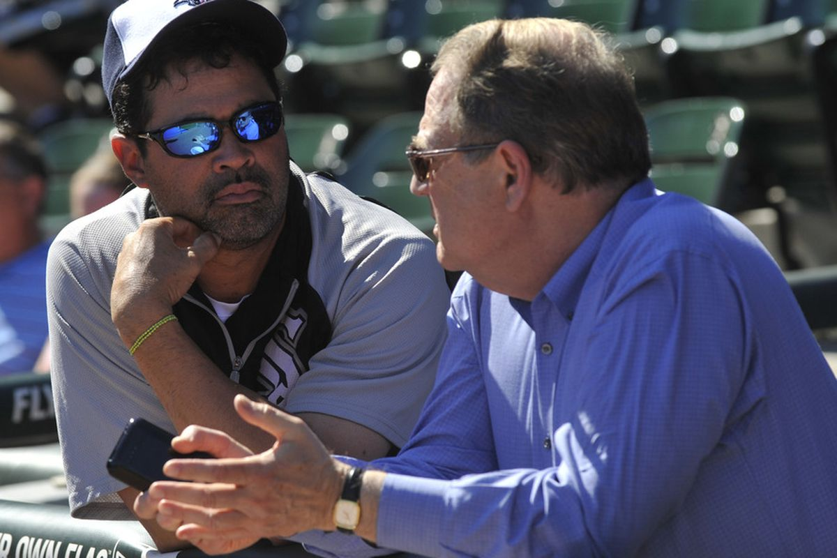 """""""Ozzie you're my manager and I love you.  But don't ever take sides with Joe Cowley against the White Sox again.  Ever."""""""