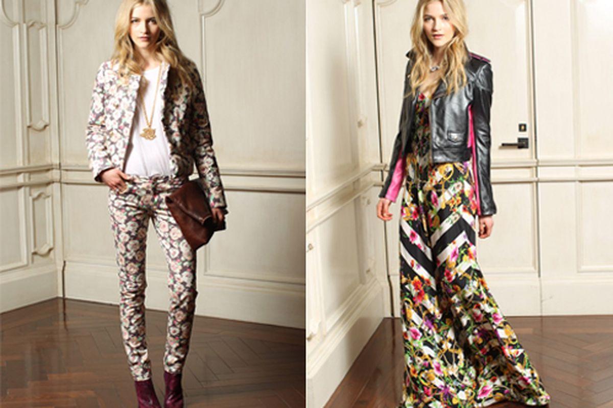 "Juicy Couture fall 2012. Photos via <a href=""http://www.wwd.com/fashion-news/fashion-features/juicys-london-bridge-5833629"">WWD</a>."