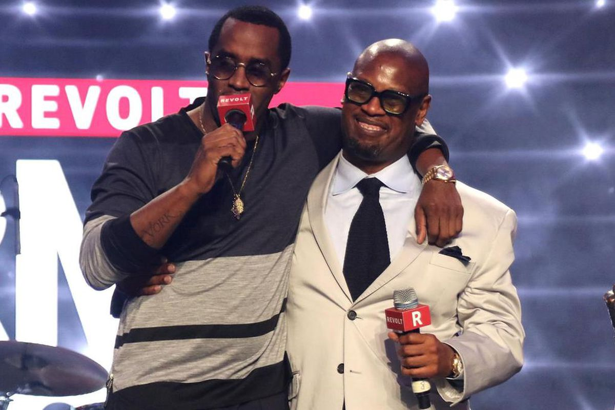 Diddy and Andre Harrell