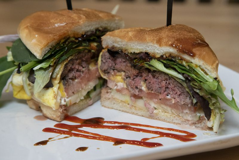 The Ramly burger is served at Kapitan restaurant in Chicago.