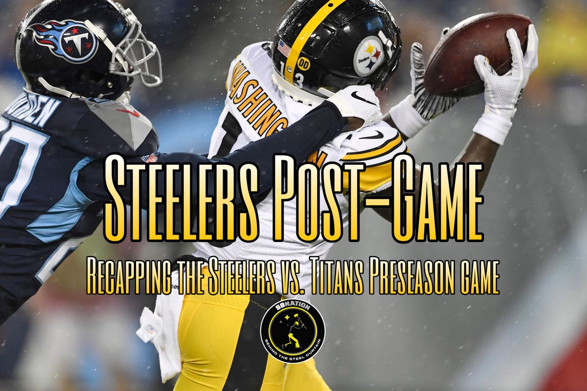 Recapping the good, and bad, in the Steelers win over the