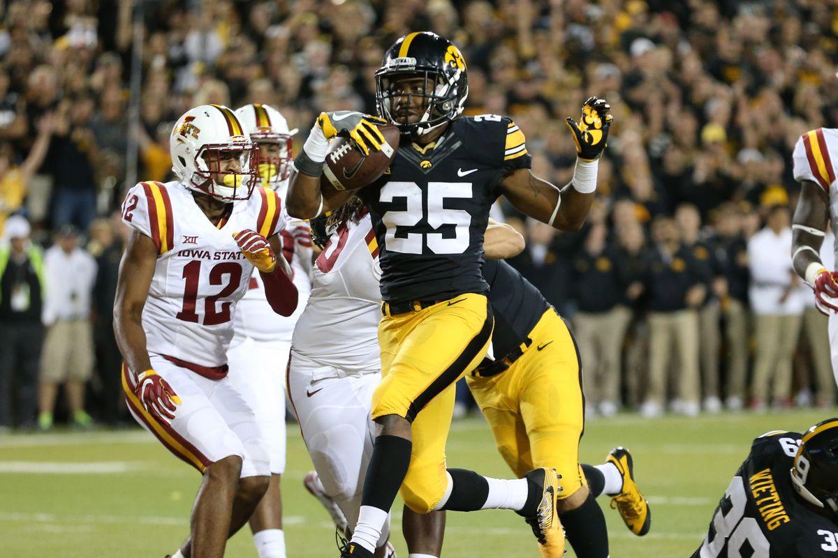 NCAA Football: Iowa State at Iowa